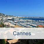 Reisen nach Cannes
