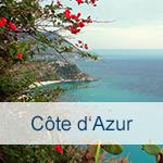 Reisen zur Cote d`Azur